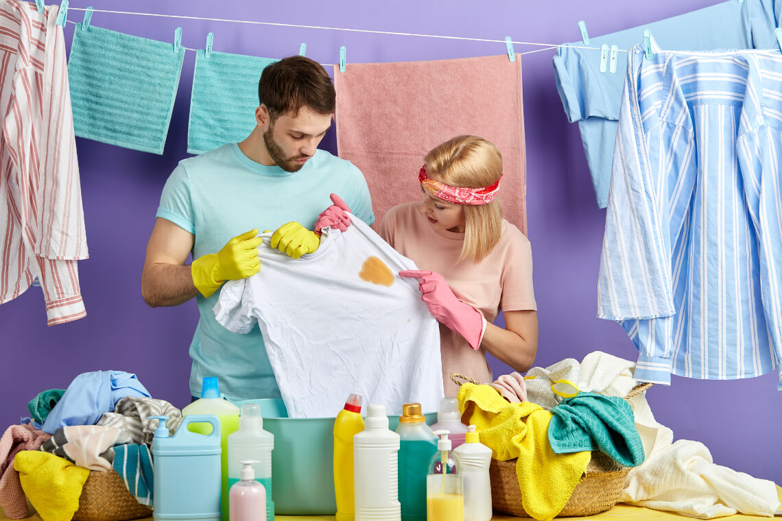How To Remove Grease Stains From Clothes | The Laundryman App
